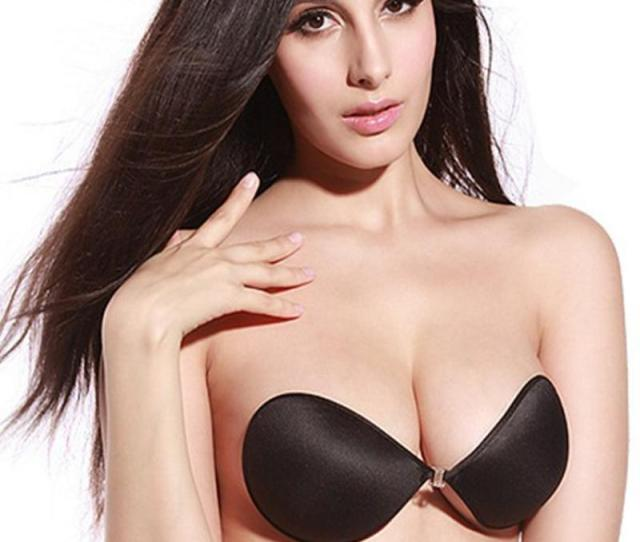 New Hot Sexy Girl Silicone Push Up Bra Self Adhesive Sticky Breast Strapless Bras For Women
