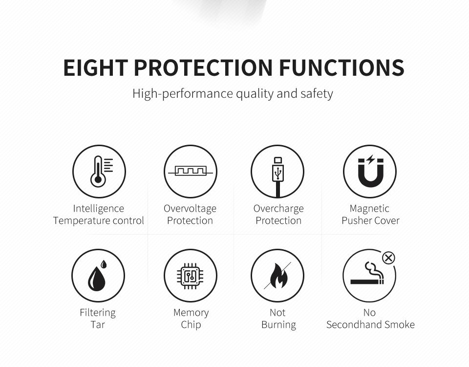 2021 MSN M50 HNB ICOS Heat Electronic Cigarette Vape Kit