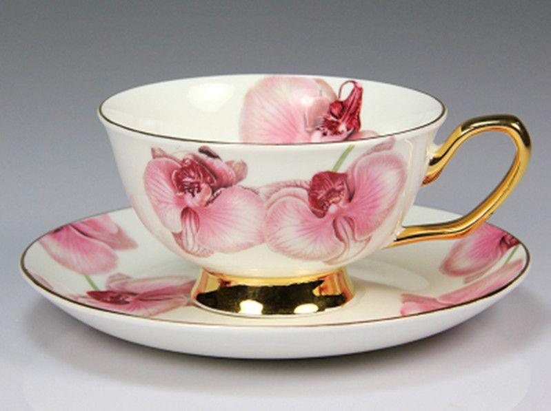 oriental cherry ceramic afternoon