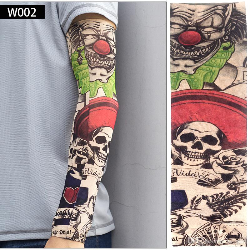 Compre 6 Unids Set Body Arts Falso Tatuaje Temporal Mangas De