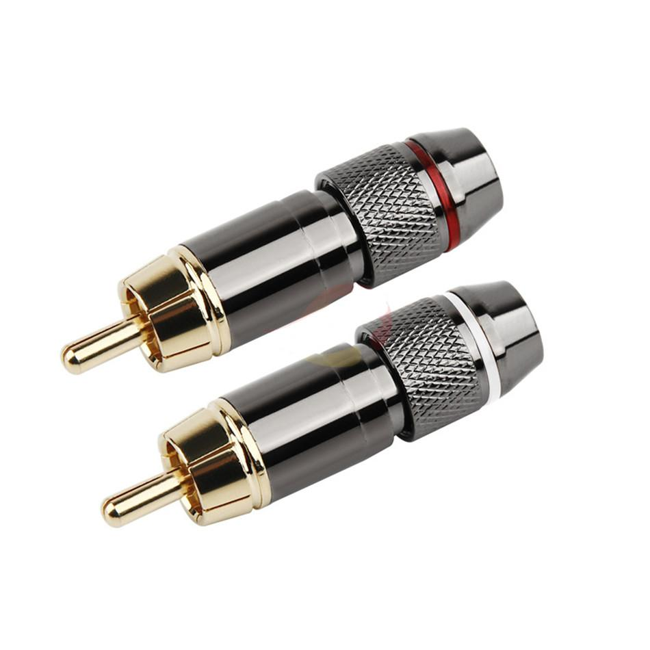 medium resolution of 50pcs rca audio connector can be matched with color please remarks description