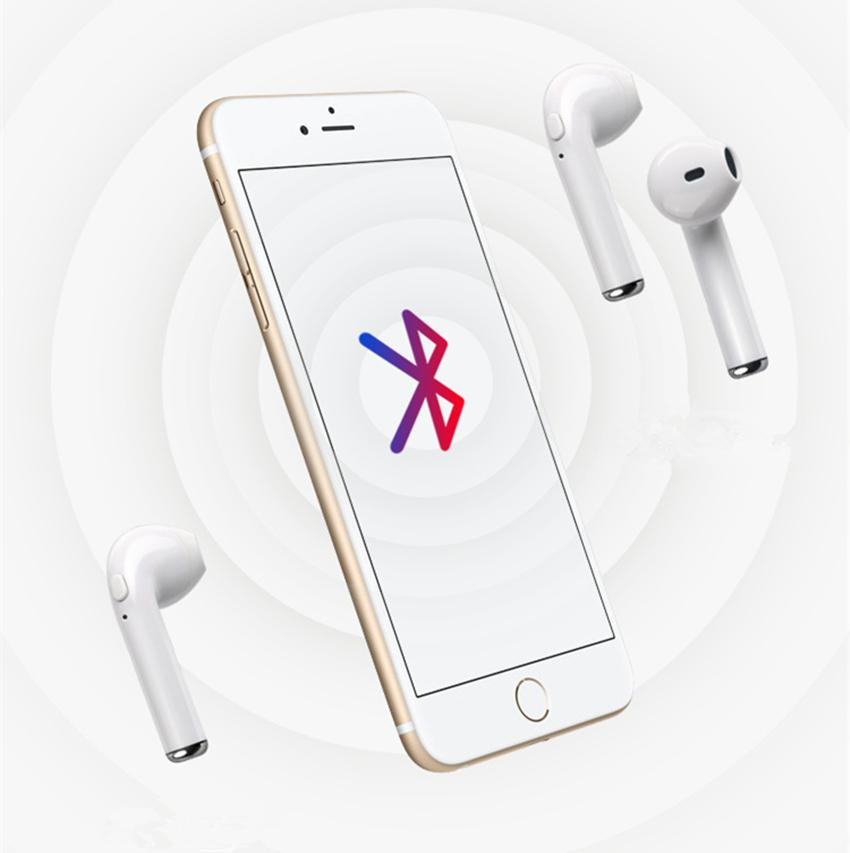 Mini Wireless Bluetooth Headset Earpieces I7 I7S TWS