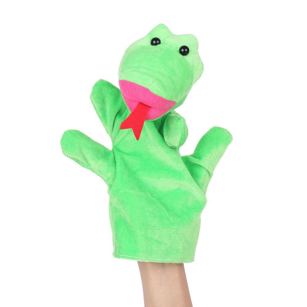 animals hand puppets finger