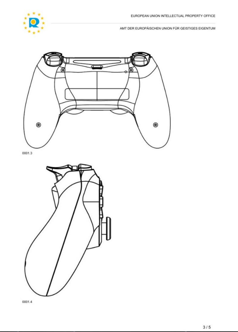 Genuine Patented Gamepad For Sony PS4 / PS3 USB Wired