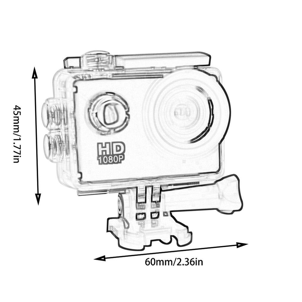 2.0 INCH Dual Screen Sports DV Action Camera Waterproof
