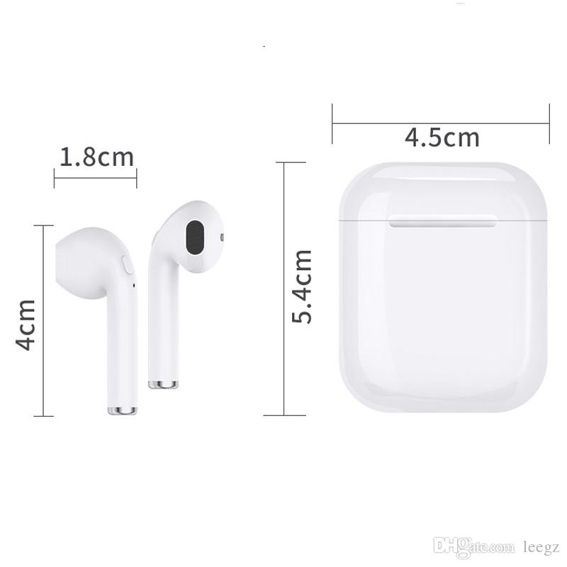 I7 I7S TWS Twins Bluetooth Wireless Earphone With Charger