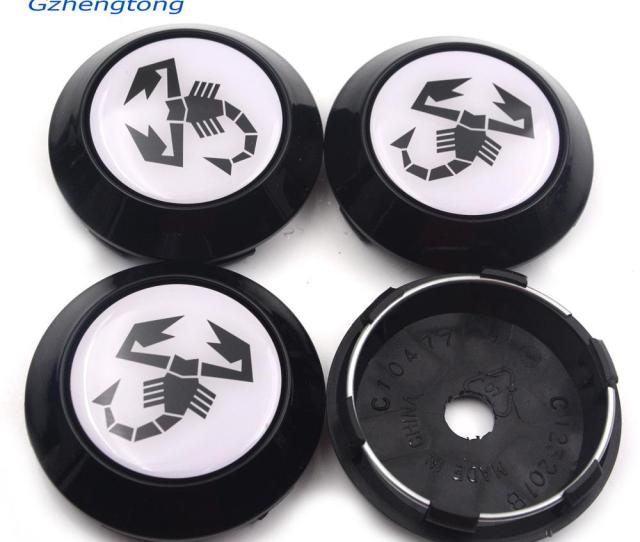 Gzhengtong Car Styling Mm Abarth Scorption Funny Decals Auto Wheel Center Caps Clip Mm For Volk Wheel Rims Hub Caps Car Emblem Wheel Center Hub Cap