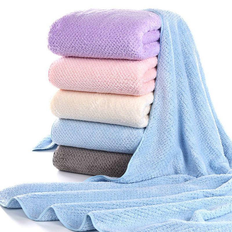 2020 Microfiber Rapid Drying Hair Towel Bath Towels Gift ...