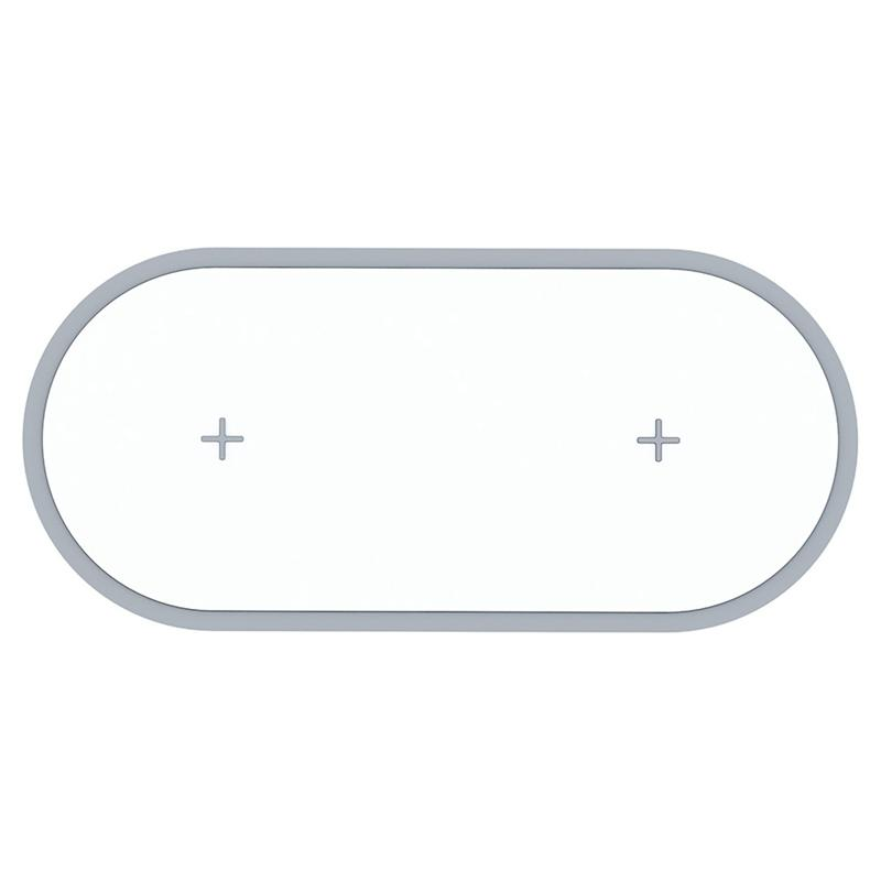 Hot Two Seat Wireless Charger 10W Fast Charge Applicable