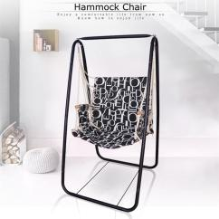 Steel Net Chair Mission Style And Ottoman Hammock Hanging Leisure Swing Foot Holder Garden 1 X Foothold Kit Screw Kits