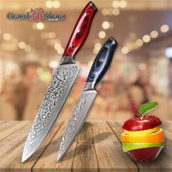 Kitchen Knives For Sale Design And Layout Ideas Grandsharp Knife Set Damascus Japanese Chef Utility Steel Vg10 Cooking Tools