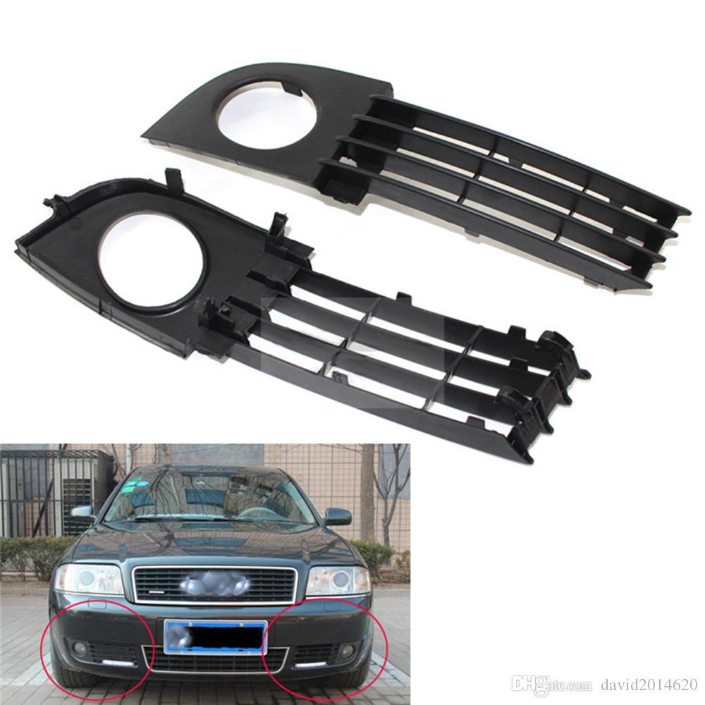 medium resolution of for audi a6 c5 2003 2005 fog light cover vent car grille auto front lower bumper driving lamp cover 4b0807681t 4b0807682t car exteriors car external body