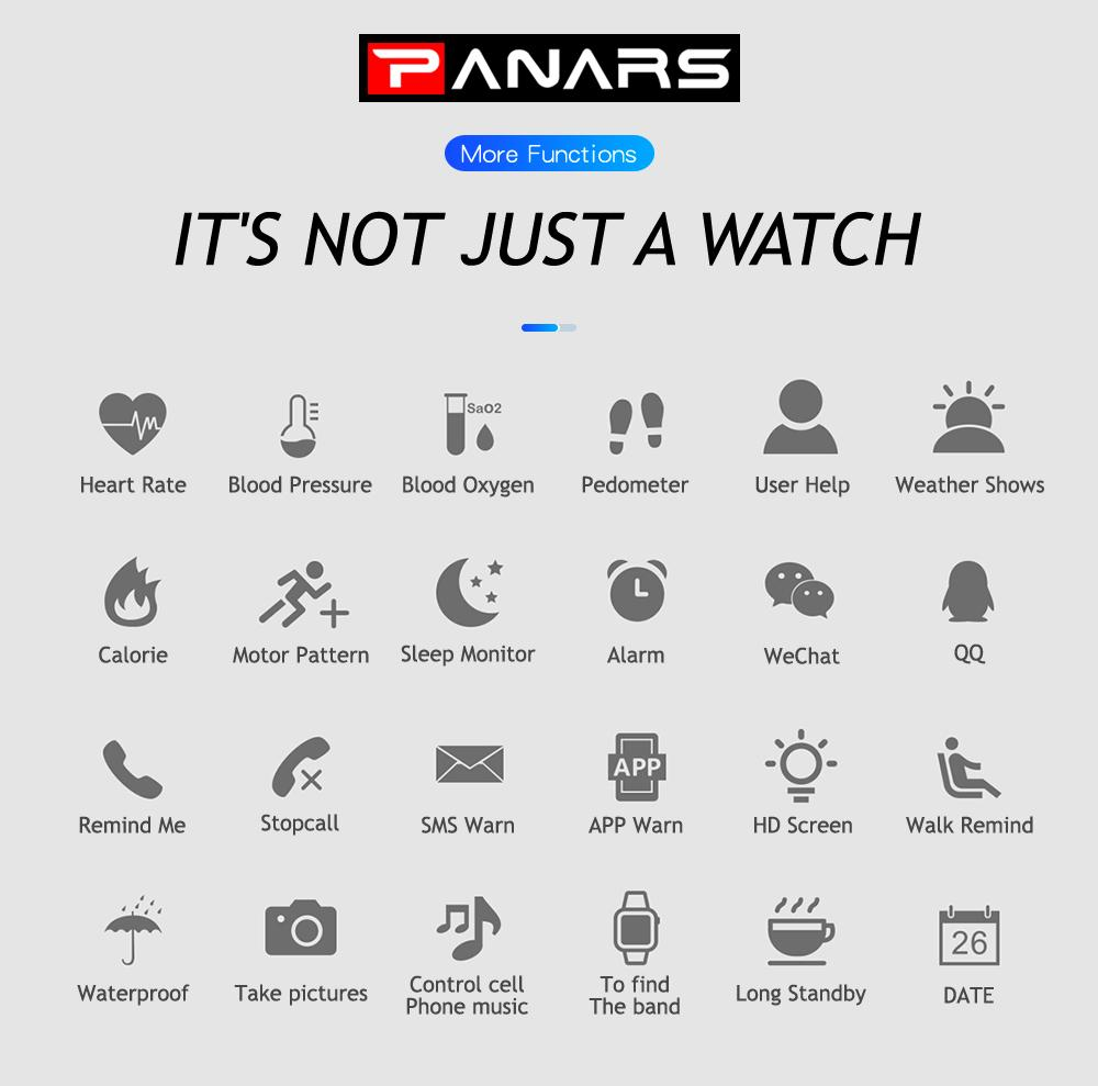 2018 Hot Touch Screen Smart Watches Wristband Android And