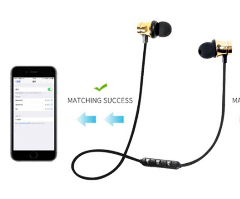 XT11 Wireless Bluetooth Headphones Sports In Ear BT Stereo