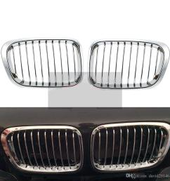 2019 car front hood kidney grille grill for bmw e46 318i 320i 323i 325i 328i 1998 1999 2000 2001 auto bonnet grill 4 doors from david2014620  [ 1000 x 1000 Pixel ]