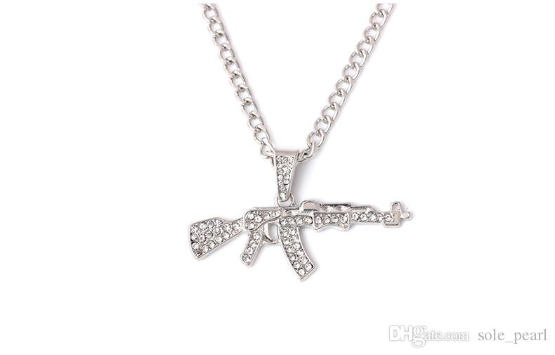 Wholesale Men Necklace Hip Hop Jewelry Iced Out Chains