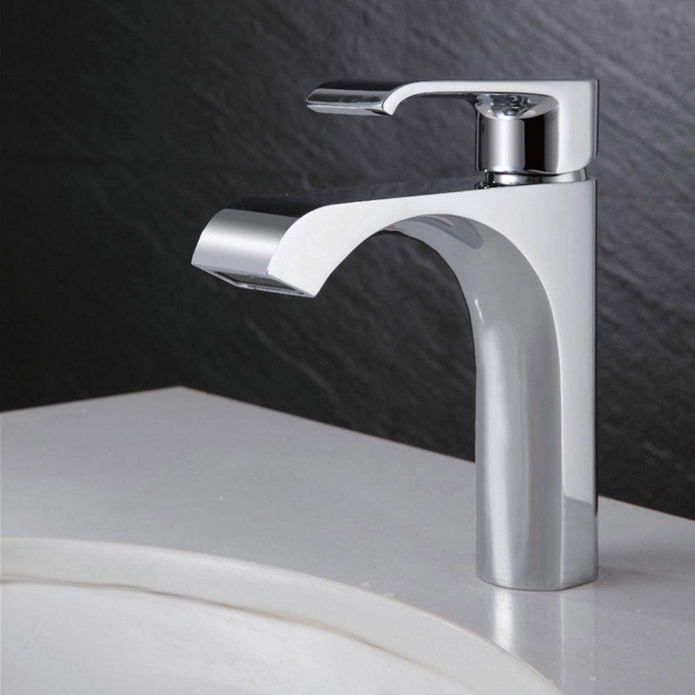 bathroom sink faucet vessel one hole