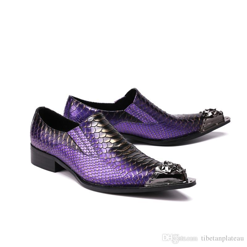 new mens pointed toe