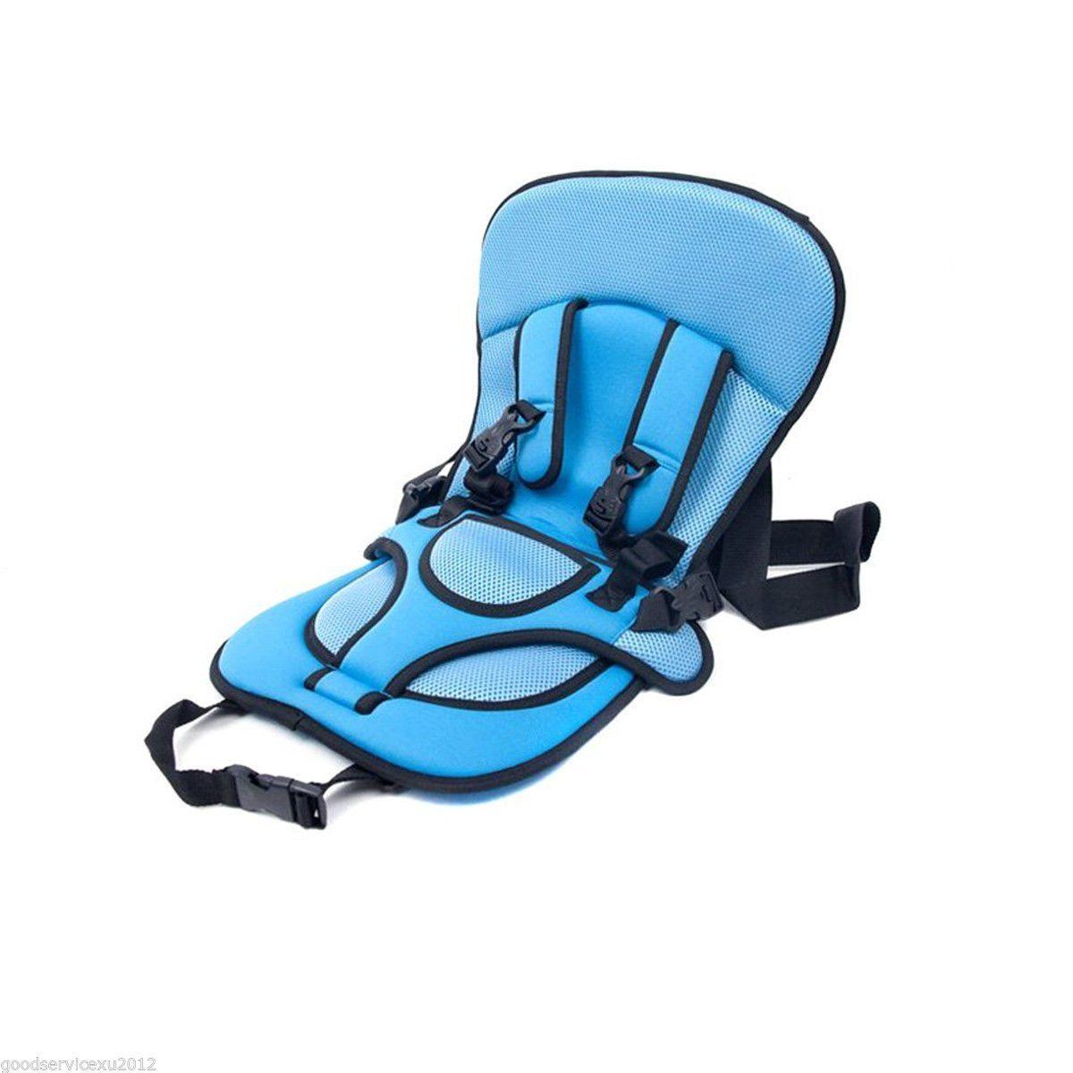 9753b2584d Protable Bambino Infantile Seggiolino Per Auto Seggiolino Sicuro Carrier  Sedia Per Bambini Regolabile Auto Safe Cuscino Telo Booster Seat Cover