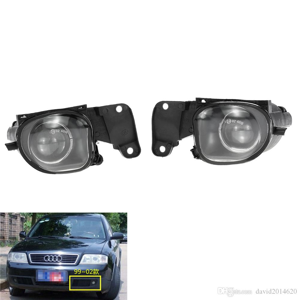 medium resolution of for audi a6 c5 1998 2001 auto fog light lamp car front bumper grille driving lamps fog lights set kit 4b0941699a 4b0941700a car fog lamps car fog lamps