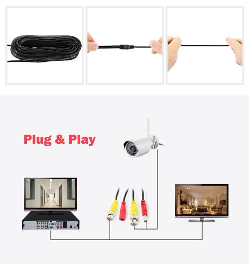 small resolution of package contents 1 x video power cable