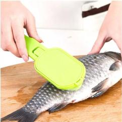 Amazing Kitchen Gadgets Revolving Spice Racks For Fish Skin Scraping Scales Brush With Knife Graters Fast Remove Tools 50 Useful From