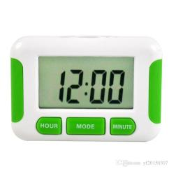 Digital Kitchen Timers Window Treatments Lcd Countdown Timer Alarm With Stand Practical Cooking Clock N