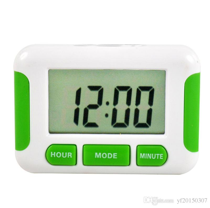 digital kitchen timers curio cabinet lcd countdown timer alarm with stand practical cooking clock n