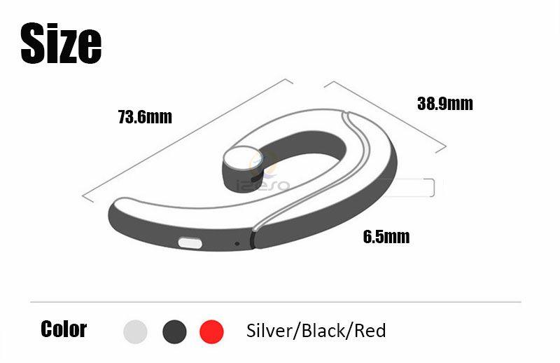 Wireless Bluetooth Earphone Stereo Headset Bone Conduction