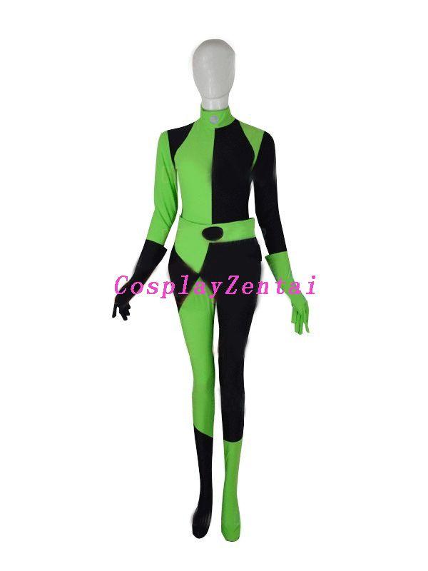 kim possible shego costume
