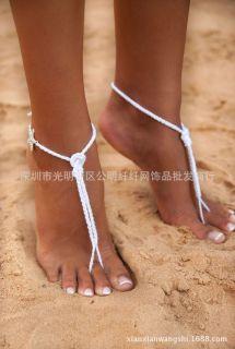 2018 2016 Sandbeach Barefoot Sandals Cheap Stretch White