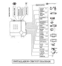 1 instruction manual english universal car vehicle security system burglar alarm protection anti [ 1000 x 1000 Pixel ]