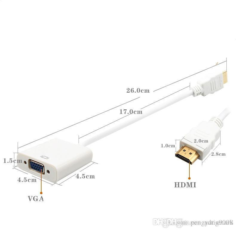 vga to hdmi cable converter with audio firefold