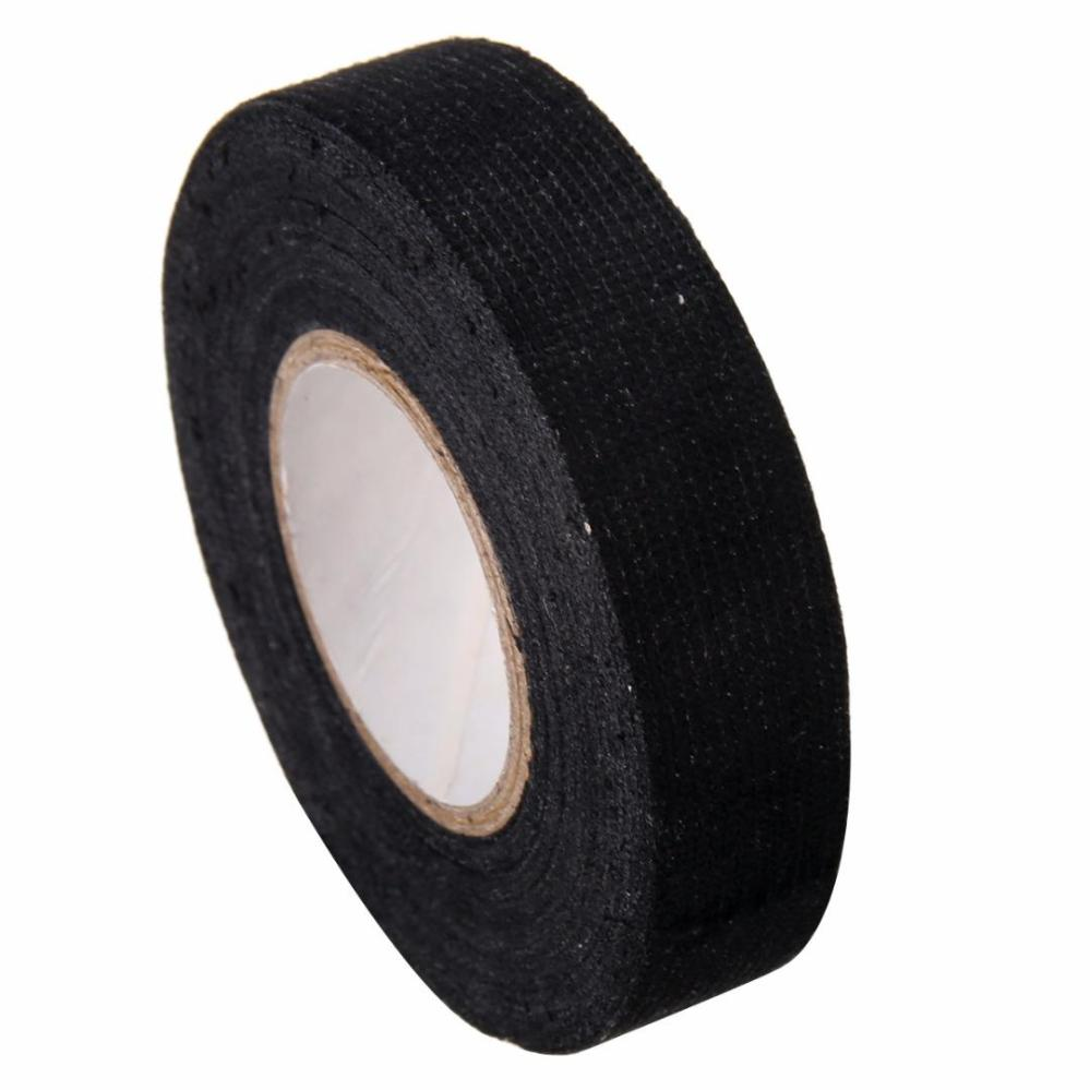medium resolution of 1pc wiring harness tape strong adhesive cloth fabric tape for looms cars 19mm x 15m