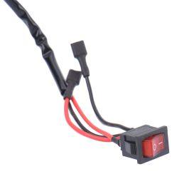 car dc 6 30v motorcycle handlebar digital amp meter volt panel meter gauge ammeter voltmeter [ 1001 x 1001 Pixel ]