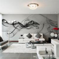 Smoke Fog Photo Wallpaper Modern Wall Mural 3d View