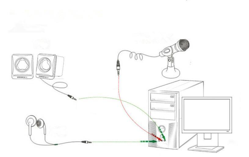 Mini Microphone Sound Studio Recording KTV Karaoke Wired