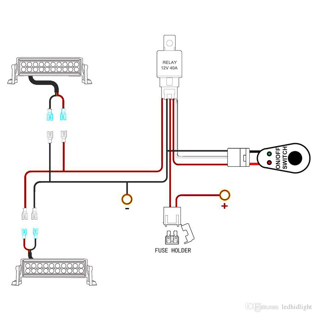 A Driving Light Relay Wiring Diagram