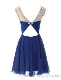 Newest Short Formal Prom Dresses Cheap Mini Prom Dress ...