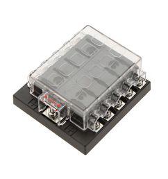high quliaty univesal car fuse box 10 way circuit 32v dc waterproof blade car fuse holder [ 1000 x 1000 Pixel ]
