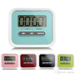 Digital Kitchen Timers Amish Table 2019 Timer Helper Mini Lcd Count Down Clip Alarm Colorful Meow