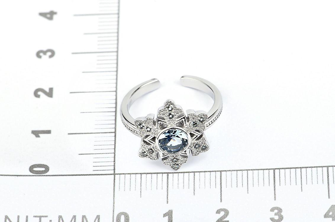 2019 Frozen Elsa Snowflake 925 Sterling Silver Ring Women