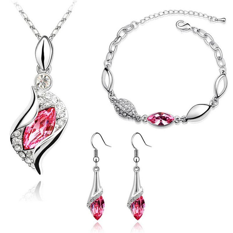 2020 SHDEDE Crystal From Swarovski Female Bridal Jewelry