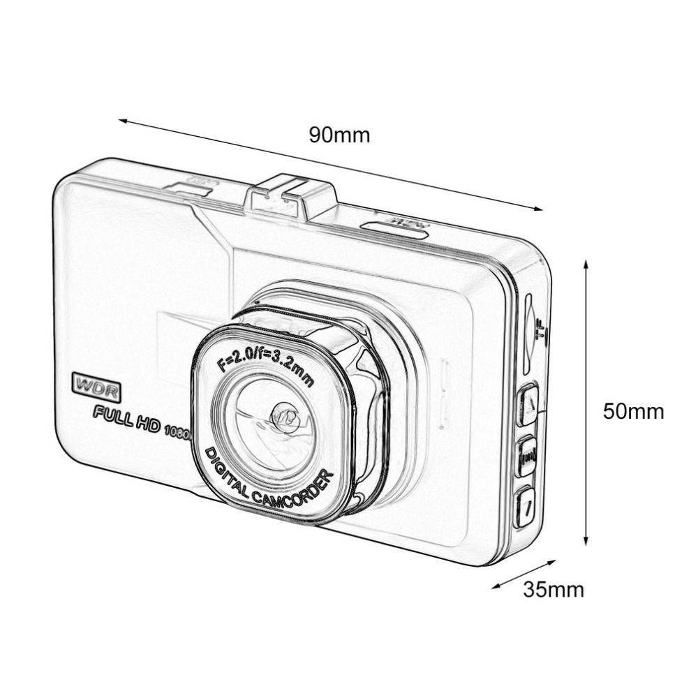 Hot Selling 3.0 Inch LCD Dash Camera Video Car DVR
