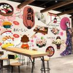 3d Wallpaper Custom Photo Mural Japanese Food Sushi Restaurant Catering Tooling Wall Wall Art Canvas Pictures Wall Tapestry 3d Free Animated Desktop Wallpaper Free Animated Wallpaper From Wdbh1 13 15 Dhgate Com