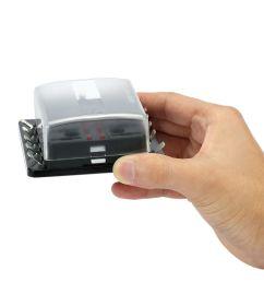 car fuse box 10 way blade fuse box holder with led warning light kit for car [ 1000 x 1000 Pixel ]