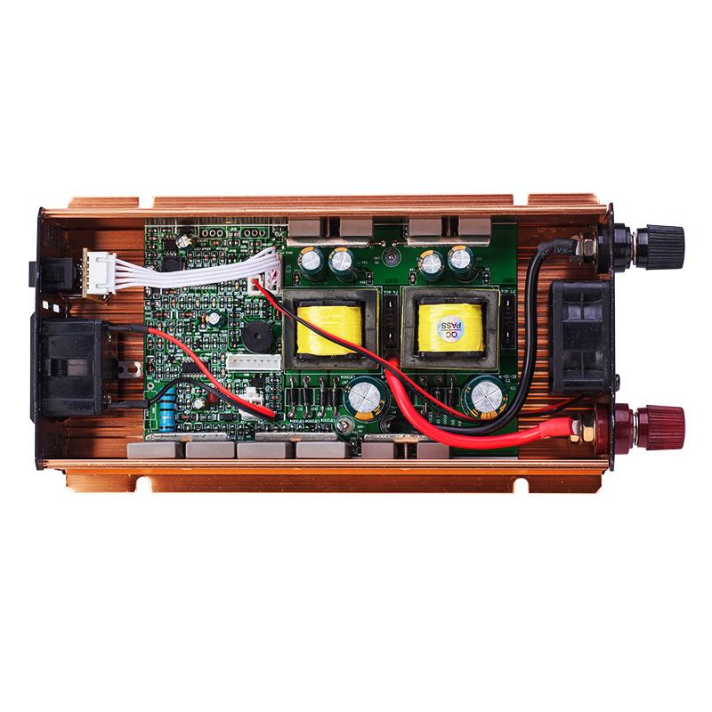 An Inverter Not Only Converts The Dc Voltage Of Battery To 220v 120 V