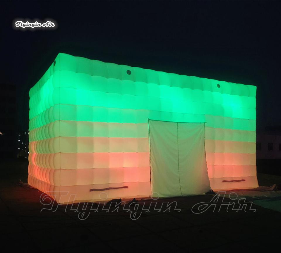 2021 outdoor lighting inflatable cube