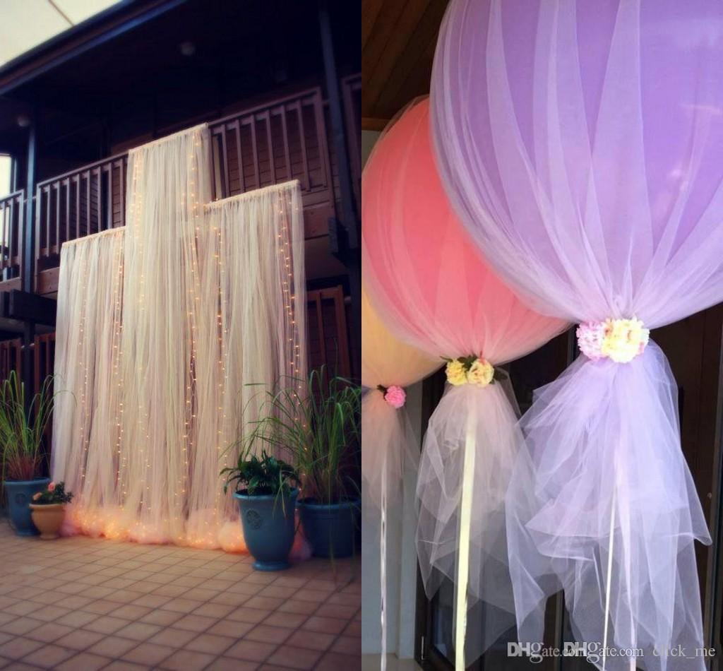tulle chair covers for wedding white spandex bulk diy custom madetulle decorations