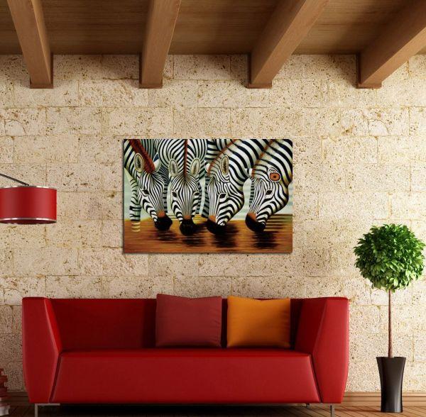 2019 Animal Zebra Home Decor Hd Printed Modern Art Painting Canvas Unframed Framed